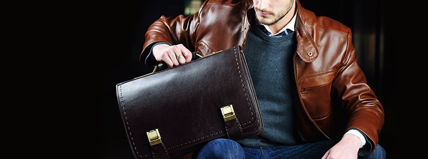 gift for him leather accessory