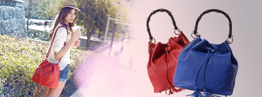 red purse or blue purse
