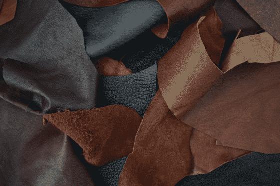 foto di Pellami di colori vari